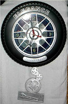 Large Tire Clock with Swing - £22.70 GBP