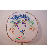 Vintage Hand Fan, Palace Fans Floral with Birds - $9.99