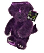Vermont Teddy Bear Company Purple Dino Teddy Bear The Bearanimal Collect... - $99.99