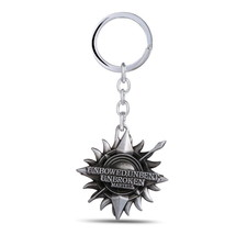 Game of Thrones House Martell 3D Logo Silver 5cm Metal Keychain Keyring - $8.58