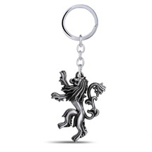 Game of Thrones House Hear Me Roar Lannister 3D Metal Keychain Key Ring - $8.58