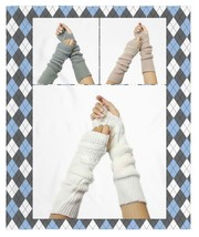 Women's Icon Collection Women's Long Knitted Arm Warmers - €7,28 EUR