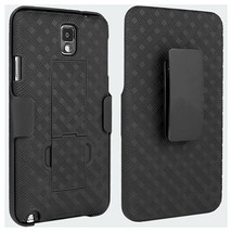 Verizon OEM Shell Holster Combo Case Belt Clip Stand for Samsung Galaxy ... - $8.77