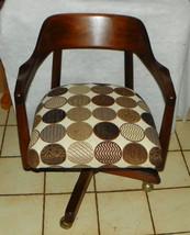 Mid Century Solid Walnut Office Chair / Armchair - $399.00