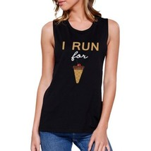 I Run For Ice Cream Work Out Muscle Tee Gym Sleeveless Tank - $14.99