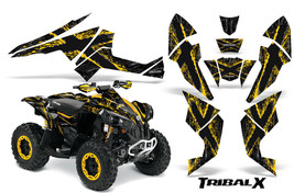 Can-Am Renegade Graphics Kit By Creator X Decals Stickers Tribalx Yellow Black - $157.09
