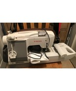 Singer CE-100 Futura Computerized Sewing Machine - Powers On, With Pedal And Man - $118.80