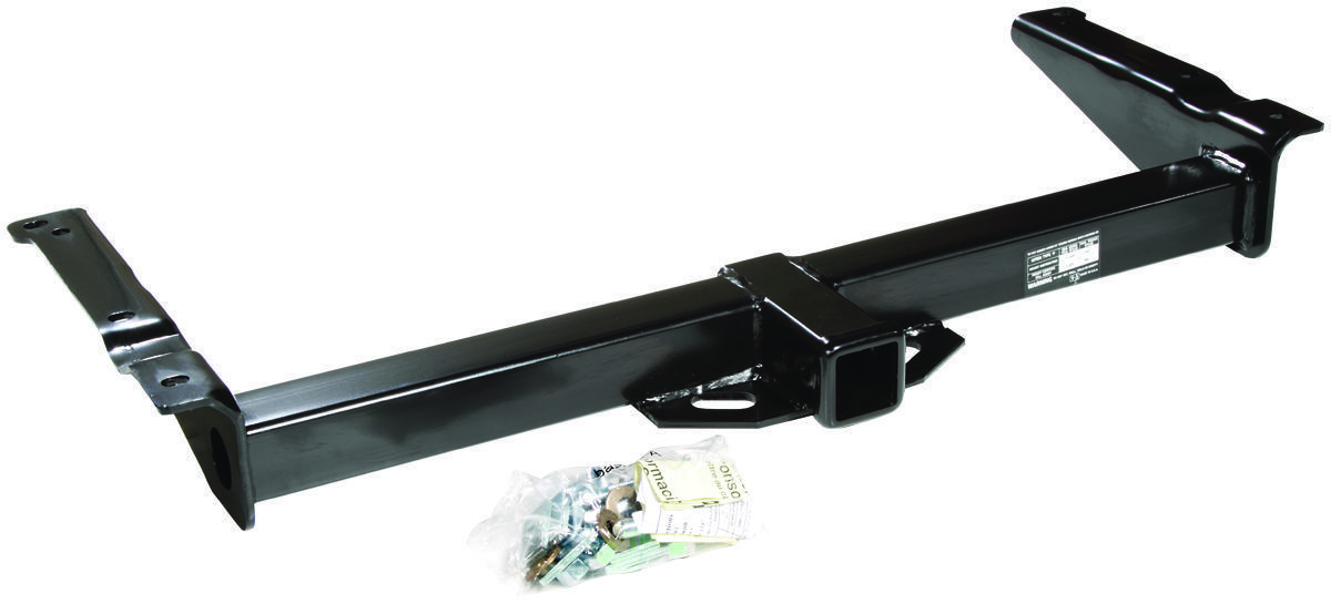 95-03 ford econoline van trailer hitch + wiring kit + ballmount + 2 inch