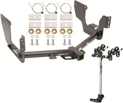 2015-2017 Ford F-150 Trailer Hitch + Complete Rola 3-BIKE Rack Carrier Package - $349.42