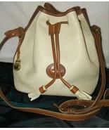 Dooney & Bourke Bucket Bag Leather Drawstring C... - $24.00