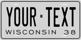 Wisconsin 1938 Personalized Custom Novelty Tag Vehicle Car Auto Motorcyc... - $16.75