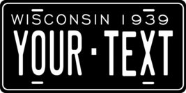 Wisconsin 1939 Personalized Custom Novelty Tag Vehicle Car Auto Motorcyc... - $16.75