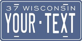 Wisconsin 1937 Personalized Custom Novelty Tag Vehicle Car Auto Motorcyc... - $16.75