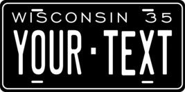 Wisconsin 1935 Personalized Custom Novelty Tag Vehicle Car Auto Motorcyc... - $16.75