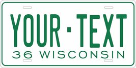 Wisconsin 1936 Personalized Custom Novelty Tag Vehicle Car Auto Motorcyc... - $16.75