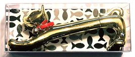 Grasslands Road Metallic Pen ~ Gold Cat - $7.99