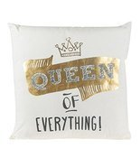 Queen of Everything Pillow, Large - $613,73 MXN