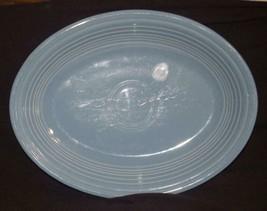 """Fiestaware 11 1/2"""" Oval Platter blue - $18.99"""