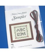 Mini Cross-Stitch Sampler Kit - $13.85
