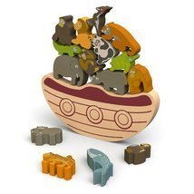 BeginAgain Balance Boat: Endangered Animals Gam... - $34.64