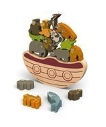 BeginAgain Balance Boat: Endangered Animals Game and Playset Award-Winni... - $34.64