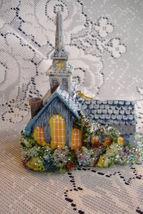 Thomas Kinkade Forest Chapel Church Christmas Ornament - $7.95