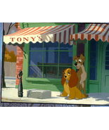 Disney Lady & The Tramp with Tony Lithograph Make Offer - $25.00