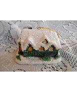 Thomas Kinkade Silent Night House Christmas Ornament - $7.95
