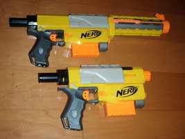 Lot Of 2 NERF Dart Guns Recon CS-6 - $46.74