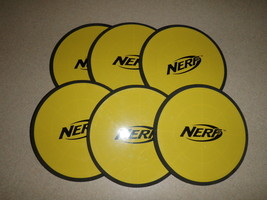 "Lot Of 6 Nerf Replacement Skeet Disc Targets 7"" Round - $14.95"