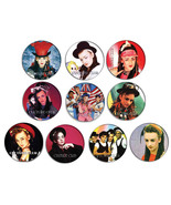 CULTURE CLUB Boy George 80s portrait pin pinback button BADGE Magnet KEY... - $5.50+