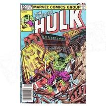 Marvel comics - The Incredible Hulk #274 - $5.94