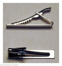 "12 TIE BAR Findings SILVER Flat Gluable Surface for beads ~ 1.6"" long x ... - $7.80"