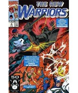 Marvel comics - The New Warriors #8 - Night Thrasher against The Punisher - $4.24