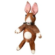 Fair Trade Finger Puppet Rabbit - Easter Basket Gift Bunny Dzi Wild Woolie - $10.88