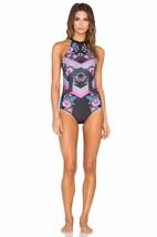 MINKPINK Women New Swimsuit Beach Blossom Multi Color Floral Geometric O... - $75.00