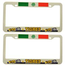 "/""Tigres/"" Mexico Soccer Plastic License Plate Frame 2 piece"