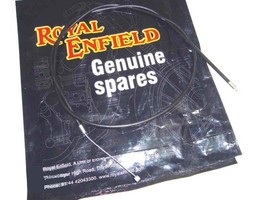 GENUINE ROYAL ENFIELD BULLET NEW 4SPEED THROTTLE CABLE - $5.22