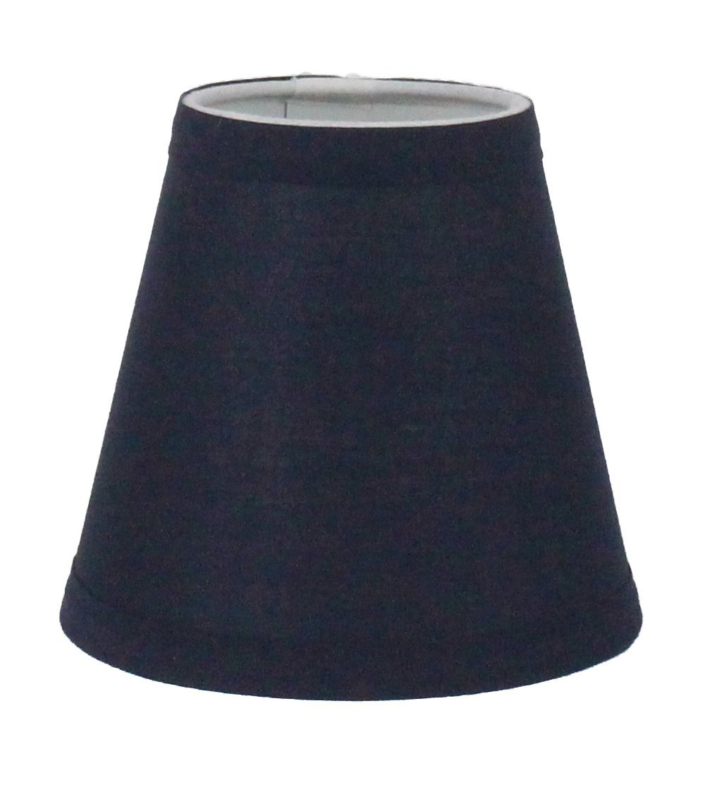 Urbanest Navy Blue Cotton Chandelier Lamp Shade 3 Inch By