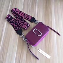Marc Jacobs Snapshot Small Camera Bag Crossbody Bag Dark Fuscia Multi Auth - ₨14,692.32 INR