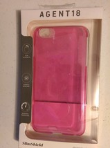 SMOKE PINK Agent 18 SlimShield iPhone 6 Plus Silhouette Case - $8.90