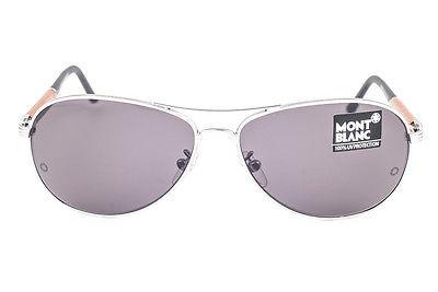 Mont Blanc Palladium Wood / Gray Sunglasses MB409S 16A image 2