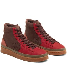 Converse 2000s Scarlet Bison Pro Nubuck & Raw Leather Hi High Tops  Wm's... - $82.99