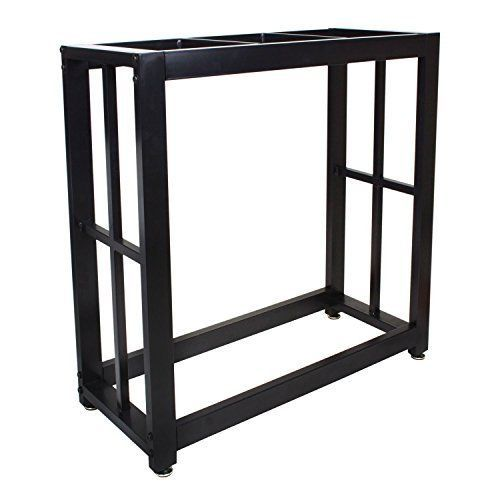 Aquarium Fish Tank Stand 29 Gallon Black Solid Steel Welded Easy to Assemble New