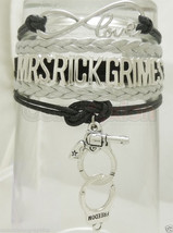 MRS RICK Grimes Infinity Bracelet The Walking Dead Fan Python Gun Sherif... - $10.77