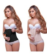 Vedette 403  Colombian Sport Waist Cincher,Workout Shapewear Black Fabri... - $59.84