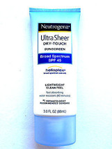 Neutrogena Ultra Sheer DryTouch Sunscreen, SPF 45, 3oz. - $14.08