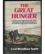 The Great Hunger by Cecil Woodham-Smith 1st edition Irish Potato Famine - $12.99