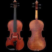 Professional Hand-made 4/4 Size Acoustic Violin One Piece Back Antique S... - $513.09