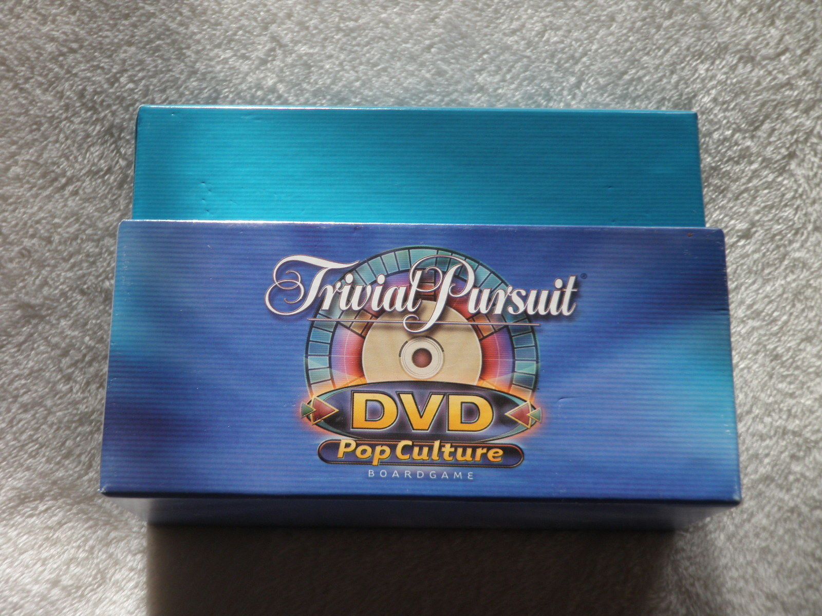 Primary image for Vintage 2003 TRIVIA PURSUIT DVD POP CULTURE Game Cards With Box ONLY